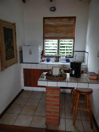 Orosi Lodge: Küchenbereich im Zimmer