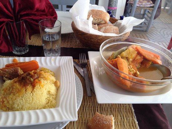 Chez Mermoz : Couscous