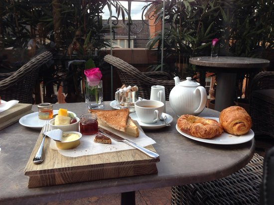 Beautiful breakfast picture of galvin demoiselle at the for The terrace brunch