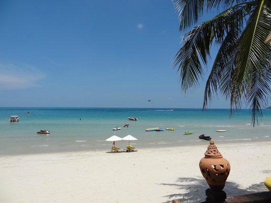 Centara Grand Beach Resort Samui : sea breeze bar view for lunch
