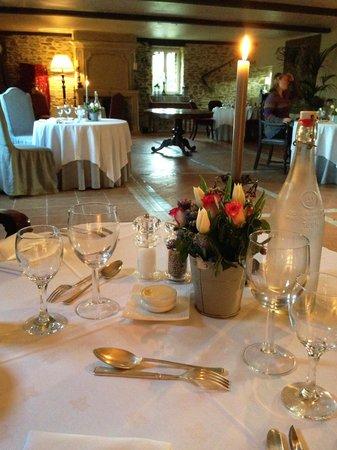 Manoir de la Riviere : dinner