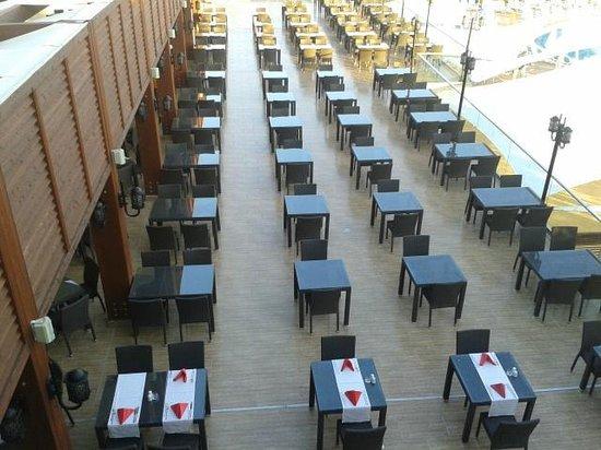 Paloma Oceana Resort: salle a manger exterieure