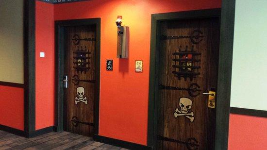 Room doors picture of legoland malaysia resort johor for Door design johor bahru