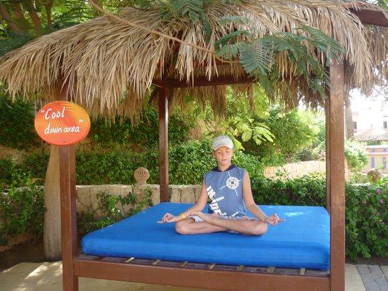 Hilton Sharks Bay Resort: Релакс-беседка