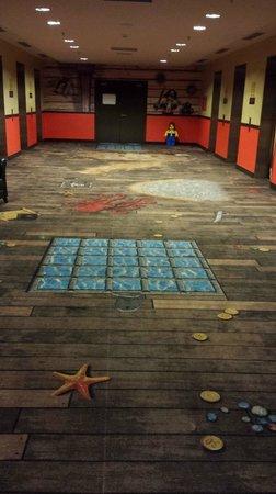 Legoland Malaysia Resort: pirate carpet
