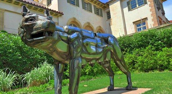 Philbrook Museum of Art: A sculpture in the garden.