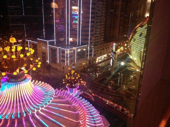 Hotel Lisboa Macau: risboa view