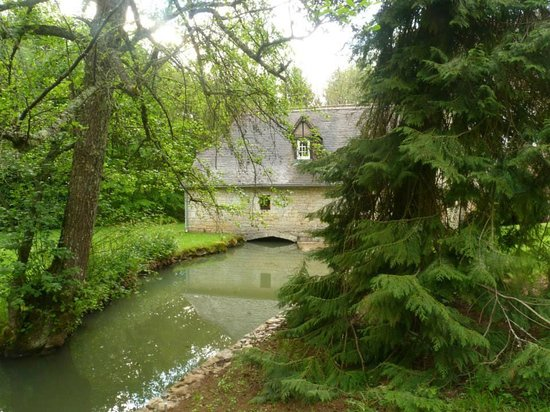 Moulin de Fresquet : Jardin 2 , le Moulin