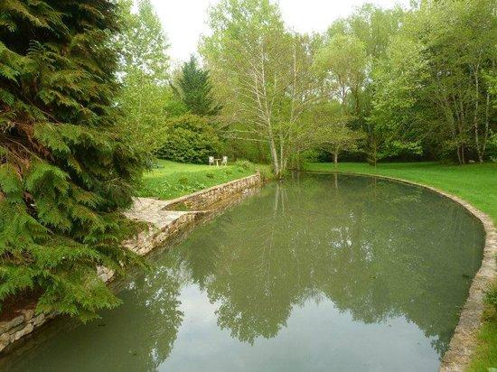 Moulin de Fresquet : Jardin