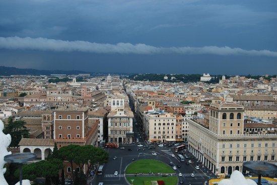 Прекрасный вид - Foto di Roma dal Cielo Terrazza delle Quadrighe ...