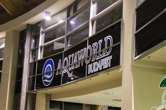 Aquaworld Resort Budapest: аквапарк