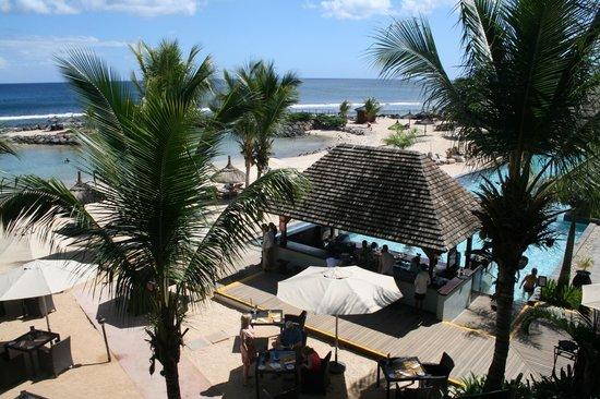 InterContinental Mauritius Resort Balaclava Fort: Vue depuis hall principal