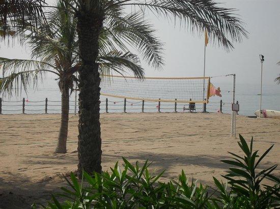 Le Meridien Al Aqah Beach Resort: Beach