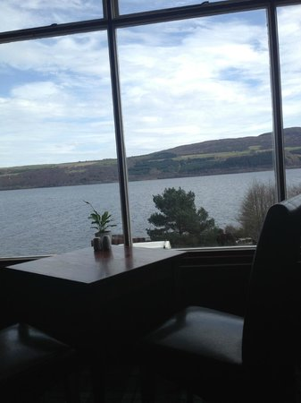 Loch Ness Clansman Hotel: View from the restaurant