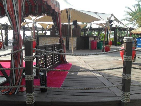 Le Meridien Al Aqah Beach Resort: Gonu Bar