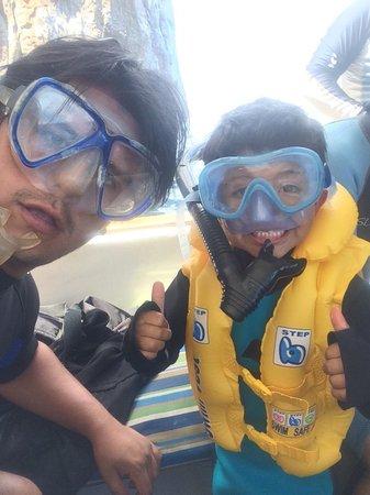 Kicker Rock : snorkeling con niños