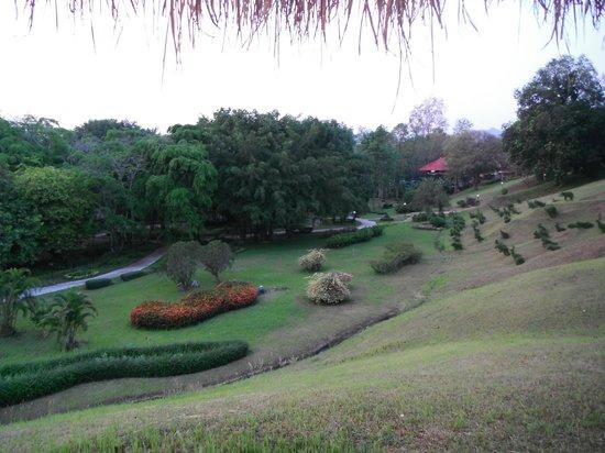 Pung-Waan Resort: jardins