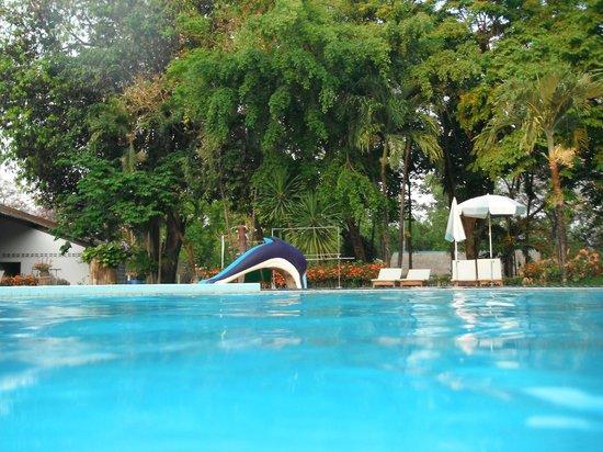 Pung-Waan Resort: piscine