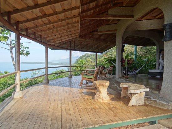 La Cusinga Eco Lodge: Aussichtsterrasse