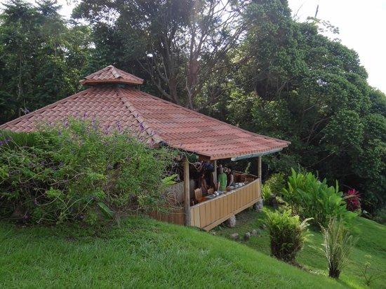 La Cusinga Eco Lodge: Restaurant