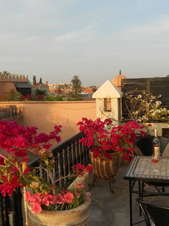 Riad Diana: Roof Terrace