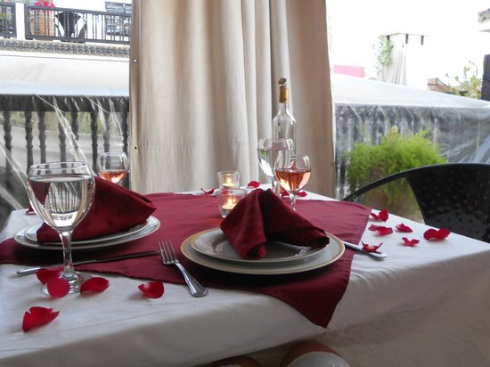 Riad Diana : Dining on Terrace