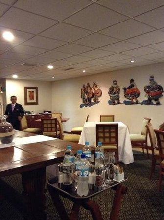 Restaurant Los Uros : restaurant interior
