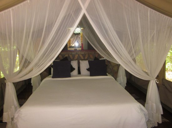 Sarova Mara Game Camp: Glamping tent