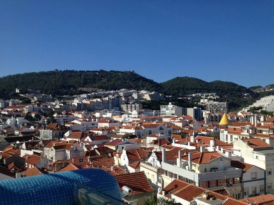 SANA Sesimbra Hotel : view of town from rooftop