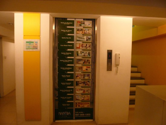 Nantra De Comfort: 低い階層ながらもエレベーター有るので荷物の多い人もOK
