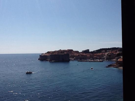 Hotel Excelsior Dubrovnik: Blick vom Zimmer