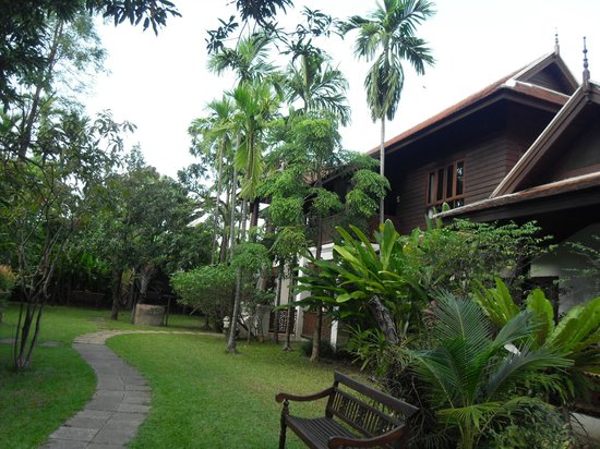 Baan Orapin Bed and Breakfast : Grounds