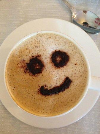 Hotel Nuvo: Кофе с улыбкой