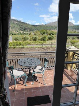 Franschhoek Country House & Villas: balcony