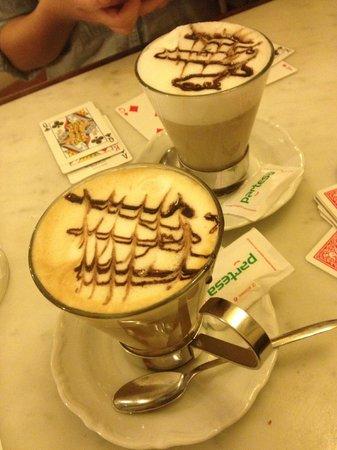 Caffe Degli Artisti : Caffelattes