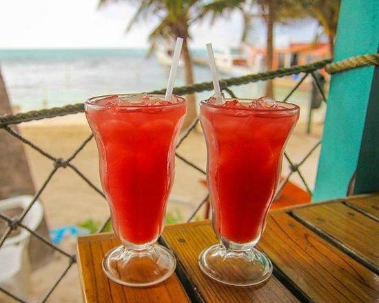 Estel's Dine by the Sea: fresh watermelon juice