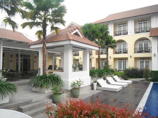 Kham Thana Hotel: coeur de l'hotel