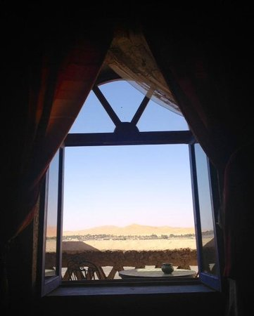 Kasbah Hotel Panorama: View from the bed (suite)