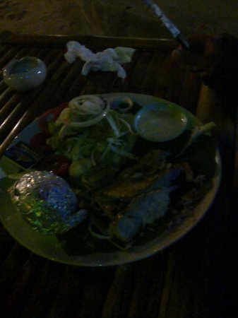 Phangan Great Bay Resort: Cena a base di pesce.... Che bontà!