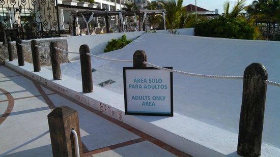 Flamingo Cancun Resort: adult area