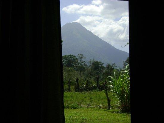 Hotel Arenal Montechiari: Vista vulcano dalla camera