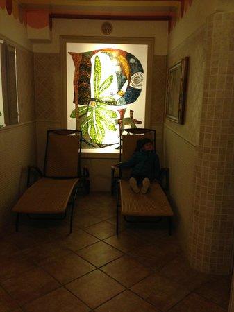 Hotel Plaza: Sala relax  e sauna