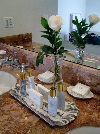 Williamsburg Inn: bathroom toiletries