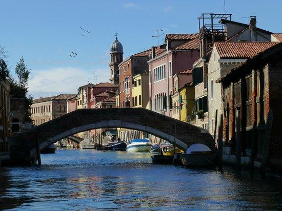 Osteria Al Squero: Blick auf den Kanal
