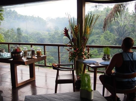 Chapung SeBali Resort and Spa : Breakfast in the restaurant.
