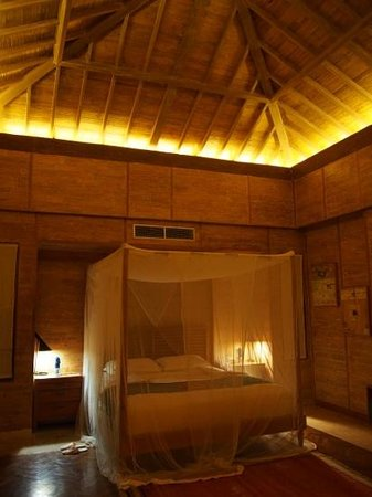 Chapung SeBali Resort and Spa: Our beautifully designed bedroom! So spoilt!