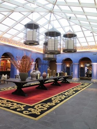Palacio del Inka, A Luxury Collection Hotel, Cusco: reception and lobby
