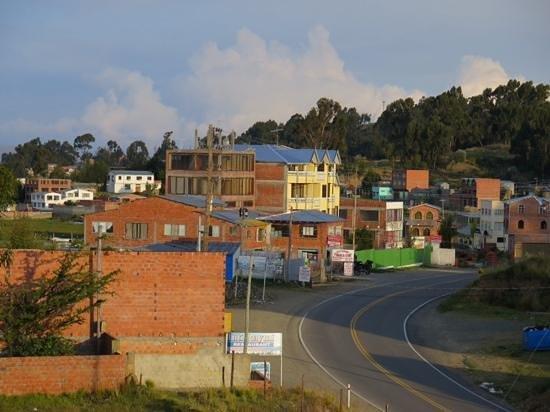 Inca Utama Hotel: view from the room