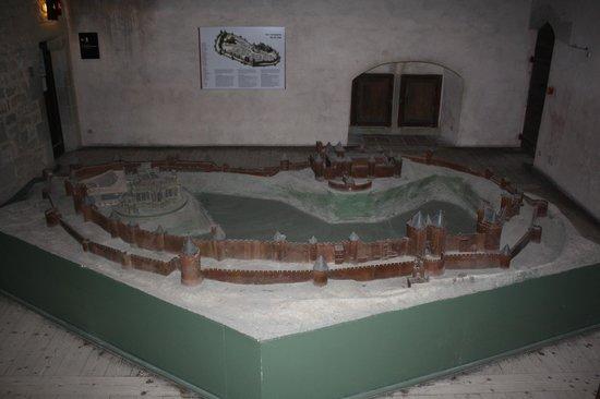 CHÂTEAU ET REMPARTS DE LA CITÉ DE CARCASSONNE : maquette de la Cité de Carcassonne