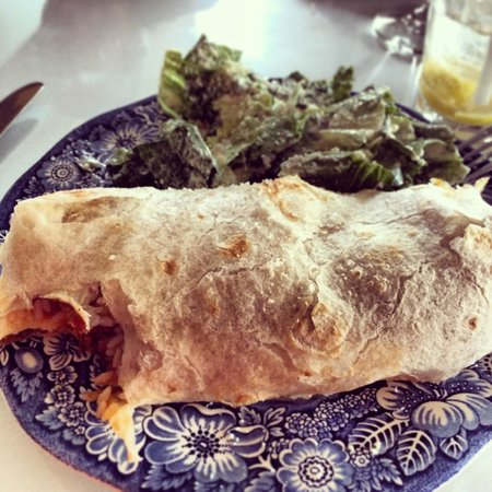 128 Pecan: Burrito special